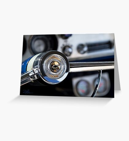 Classic Car the Chevy Greeting Card