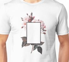 Floral Rectangle Logo Unisex T-Shirt