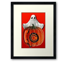 WHO U GONNA CALL ...GHOST BUSTERS..I AIN'T AFRAID OF NO GHOST...PICTURE AND OR CARD Framed Print