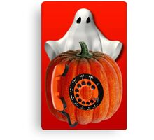 WHO U GONNA CALL ...GHOST BUSTERS..I AIN'T AFRAID OF NO GHOST...PICTURE AND OR CARD Canvas Print