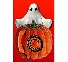 WHO U GONNA CALL ...GHOST BUSTERS..I AIN'T AFRAID OF NO GHOST...PICTURE AND OR CARD Photographic Print