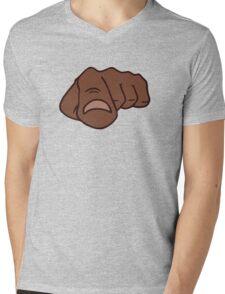 black afro pointing finger i need you Mens V-Neck T-Shirt
