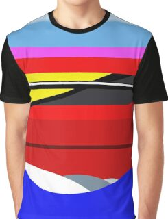 Peaceful waves  Graphic T-Shirt