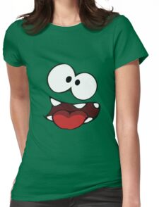 Cut The Rope - Om Nom Womens Fitted T-Shirt