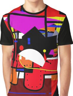 Colorful construction Graphic T-Shirt