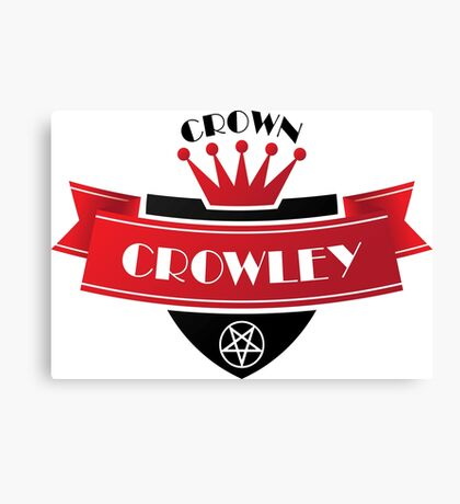 Crown Crowley Canvas Print