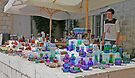 Croatian Glass Stall by Graeme  Hyde