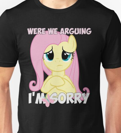 Fluttershy is Sorry Unisex T-Shirt