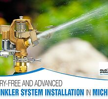 Worry-free and Advanced Sprinkler System Installation in Michigan by scotthalahan