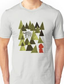 Lil Red Riding Hood Duely  Unisex T-Shirt