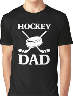 Bold, Cool Hockey Dad Logo Gift Items Graphic T-Shirt