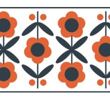 Retro Flower (Tomato) Sticker