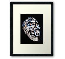 Vampire Cyborg Framed Print