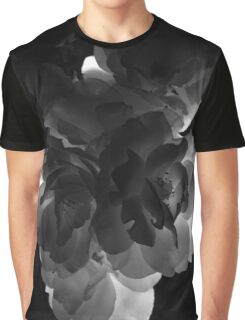 Black and White Roses 2 Graphic T-Shirt