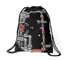 Metroid Gameplay Drawstring Bag