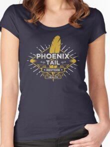 Phoenix Tail Women's Fitted Scoop T-Shirt