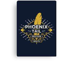 Phoenix Tail Canvas Print