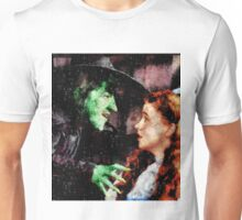 Wicked Witch and Dorothy, Wizard of Oz Unisex T-Shirt