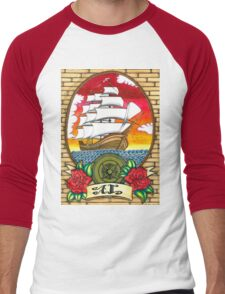 Sail Men's Baseball ¾ T-Shirt