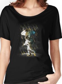 METEOR SHOWER IN SPACE V2 resty Women's Relaxed Fit T-Shirt