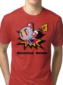 Dropping Bombs Tri-blend T-Shirt