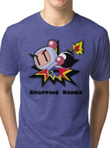 Dropping Bombs Tri-blend T-Shirt