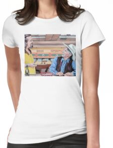 Dude, You've Got Style Womens Fitted T-Shirt