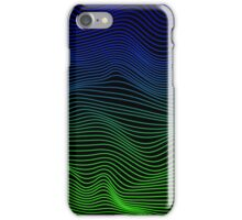 Blue and Green Waves iPhone Case/Skin