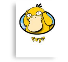 Psy? Canvas Print