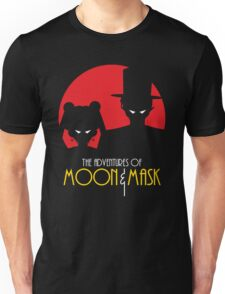 Moon & Mask Unisex T-Shirt