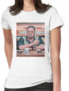 Walter Sobchak Womens Fitted T-Shirt