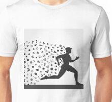 Runner sports Unisex T-Shirt