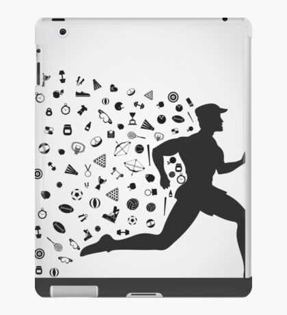 Runner sports iPad Case/Skin