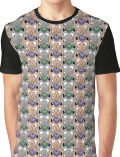 Seamless pattern with cats Graphic T-Shirt