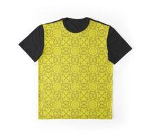 "503. ""Spirit of India: Fleur-Sun"" in golden yellow Graphic T-Shirt"