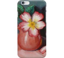 Camellias and Chinese Tea Jug iPhone Case/Skin