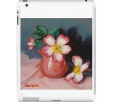 Camellias and Chinese Tea Jug iPad Case/Skin
