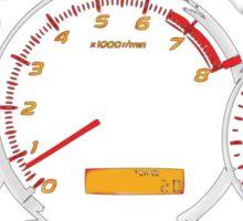 WRX gauges Sticker