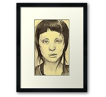 Dragon Girl Framed Print
