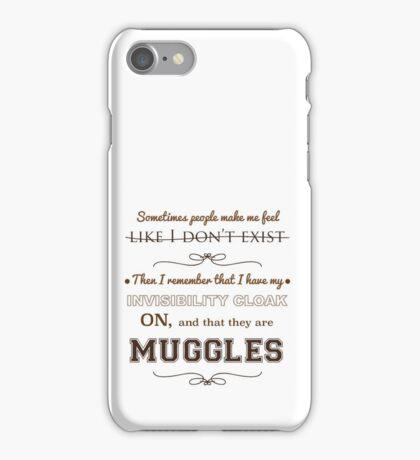MUGGLES iPhone Case/Skin