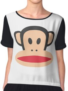 Monkey is Highly Suspicious Chiffon Top