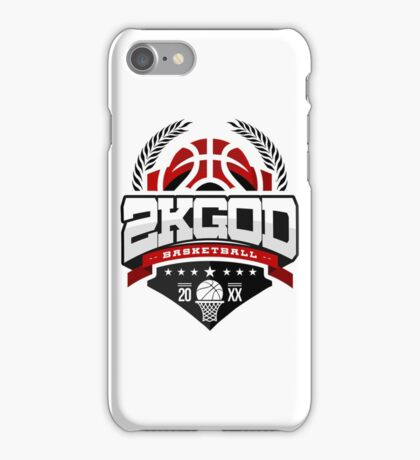 NBA 2KGOD iPhone Case/Skin