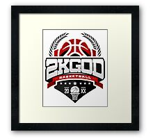 NBA 2KGOD Framed Print