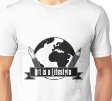 Art is a Lifestyle Unisex T-Shirt