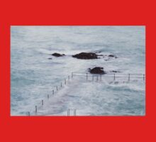 Natural Pool in Guernsey One Piece - Short Sleeve