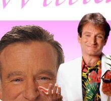Robin Williams Retro R.I.P. Sticker