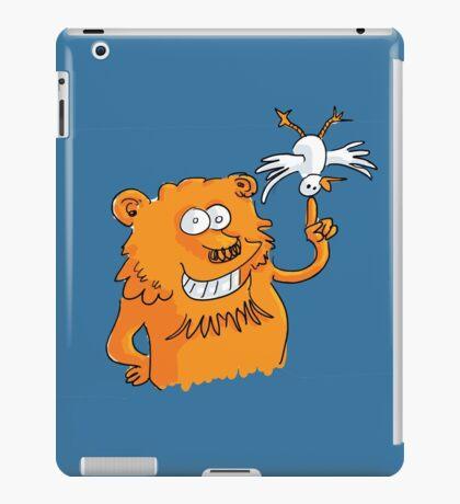 Le lion et l'oiseau iPad Case/Skin