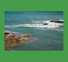Natural Pool in Guernsey Kids Tee