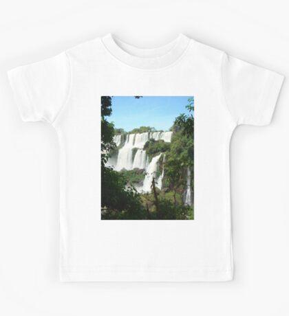 Waterfall, Iguazu, Brazil, Argentina Kids Tee