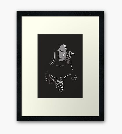 Bristol Noir - 'My Shot Sugar!' Framed Print